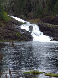 Moose Falls....I think. by HornedKing