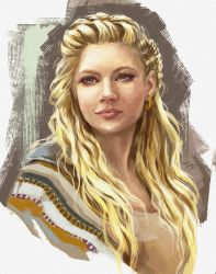 Lagertha sketch by Dzydar
