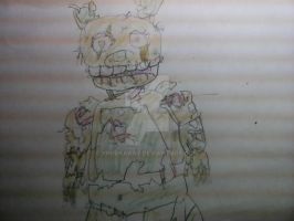 Springtrap drawing by YpodkaaaY