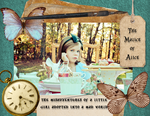 The Malice of Alice Digital Scrapbook 1 by Endorell-Taelos