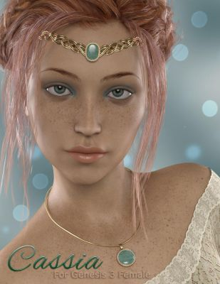 Cassia For Genesis 3 Female by CalicoDesigns