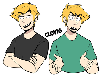 Clovis Drawings by Leeonology
