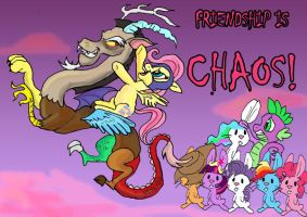 Friendship is CHAOS by raggyrabbit94