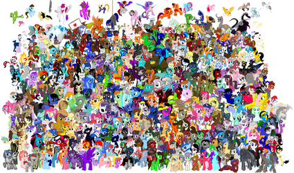 MLP The Big Picture by Omentallic