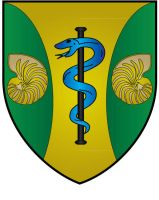 Green Templeton College Oxford Coat Of Arms by ChevronTango
