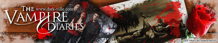 The Vampire Diaries Banner by MA95