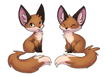 foxes by Vullo