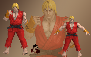 SFV Ken 2p by DragonLord720
