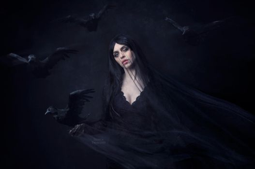 The Morrigan by fae-photography