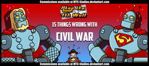 15 things wrong with Civil War by DrCrafty