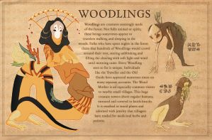 Aia-pedia: Woodlings by AngieMyst