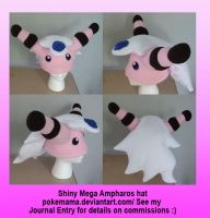 Shiny Mega Ampharos hat by PokeMama