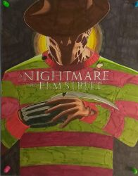 Nightmare on Elm Street by ShadowDragon6114