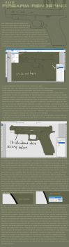 Basic Firearm Rendering pt1: Flats by cityofthesouth
