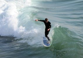 Venice Beach Surfing by artykul8