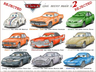CARS that never made it 2 by wannabemustangjockey
