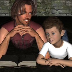 A father and son lesson... by LadyRavenlocke