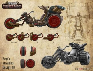 Forge's Steam Trike by castortroy3497