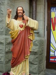 Jesus the Fonz by ArtzyBoy13