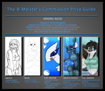 The-B-Meister's Commission Price Guide by TheBMeister