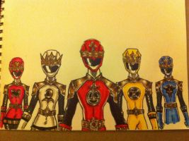 tarot card sentai preview by buddyfrank