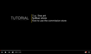 tutorial 01.a - b: fydbac store by fydbac
