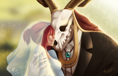the ancient magus bride by speakfriendaandenter