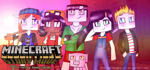 Minecraft Story Mode by PrettyXTheXArtist