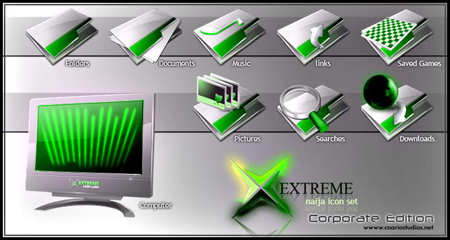 Xtreme Naija Icon Set 2 by CNARIO
