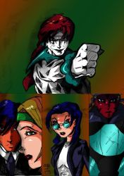 Funnybone Rage of the Lucky 13 by Lance-Danger