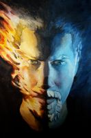 Fire and Ice by brandonledgerwood