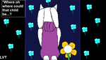 Toriel And The Echo Flowers by lovetrouble123