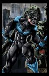 Nightwing Colored by hanzozuken