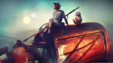 Home - Star Wars: The Force Awakens by Eddy-Shinjuku