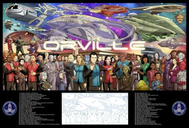 The Orville 27 x 40 print! by dusty-abell