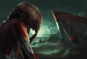 HeadCrab Zombie V2 by HeadcrabeD