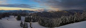 Winter Panorama by xTernal7