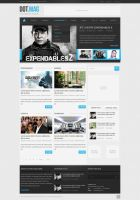 Dot.Mag PSD WordPress Magazine Template by SyloGraphix