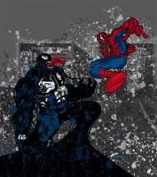 Spidey and Venom final Low res by Killswitch-Chris