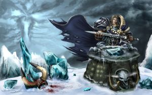 Fall of Arthas by after-eleven