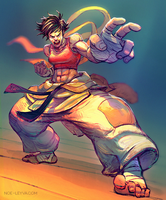 Makoto Street Fighter Fan Art by Noe-Leyva