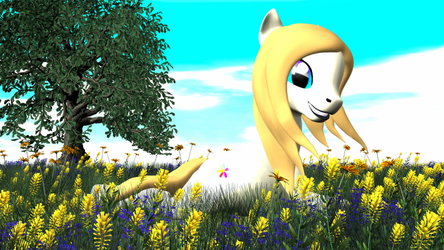 Passion Fruit MLP OC Render by velox-zone