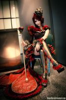 Heartless Queen of Hearts by LennethXVII