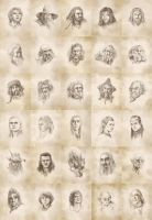 Hobbit Countdown Collage by Atarial