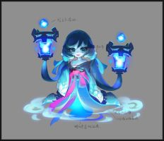 ghost loli by Joanwang