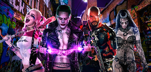 Suicide Squad Alley by MessyPandas