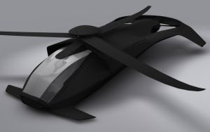 Stealth Double-Blade Helicopter by soongpa