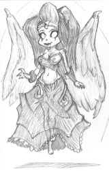 chibi Morgana sketch by OcioProduction