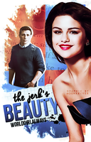 The Jerk's Beauty // Book Cover by moonxriver