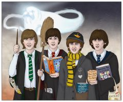 The Beatles at Hogwarts by Lucy--C